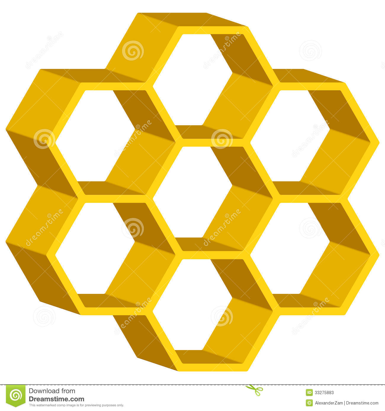 Honeycomb Graphic Design Honeycomb symbol for various