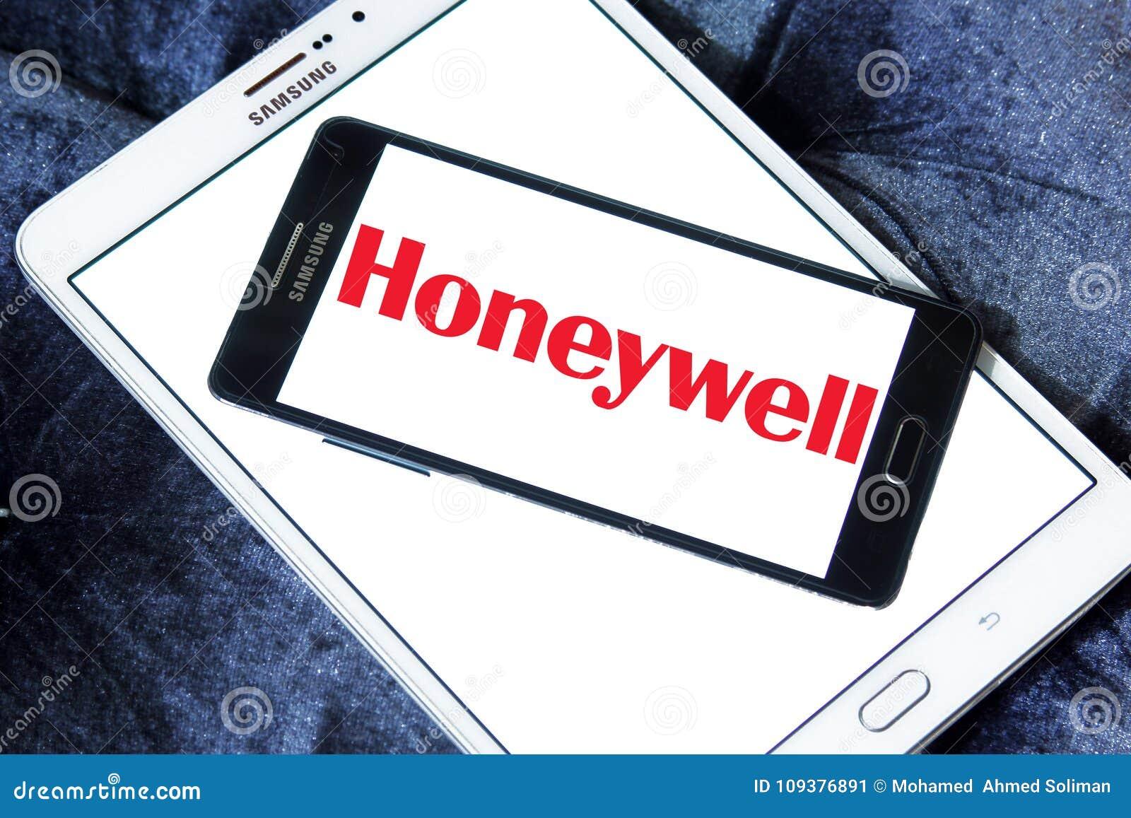 Honeywell company logo editorial photo  Image of products