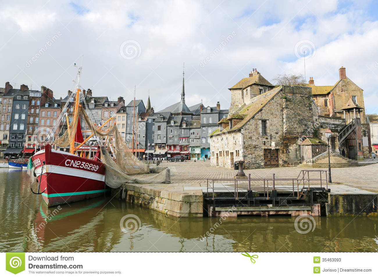 Honfleur Editorial Stock Photo - Image: 35463093