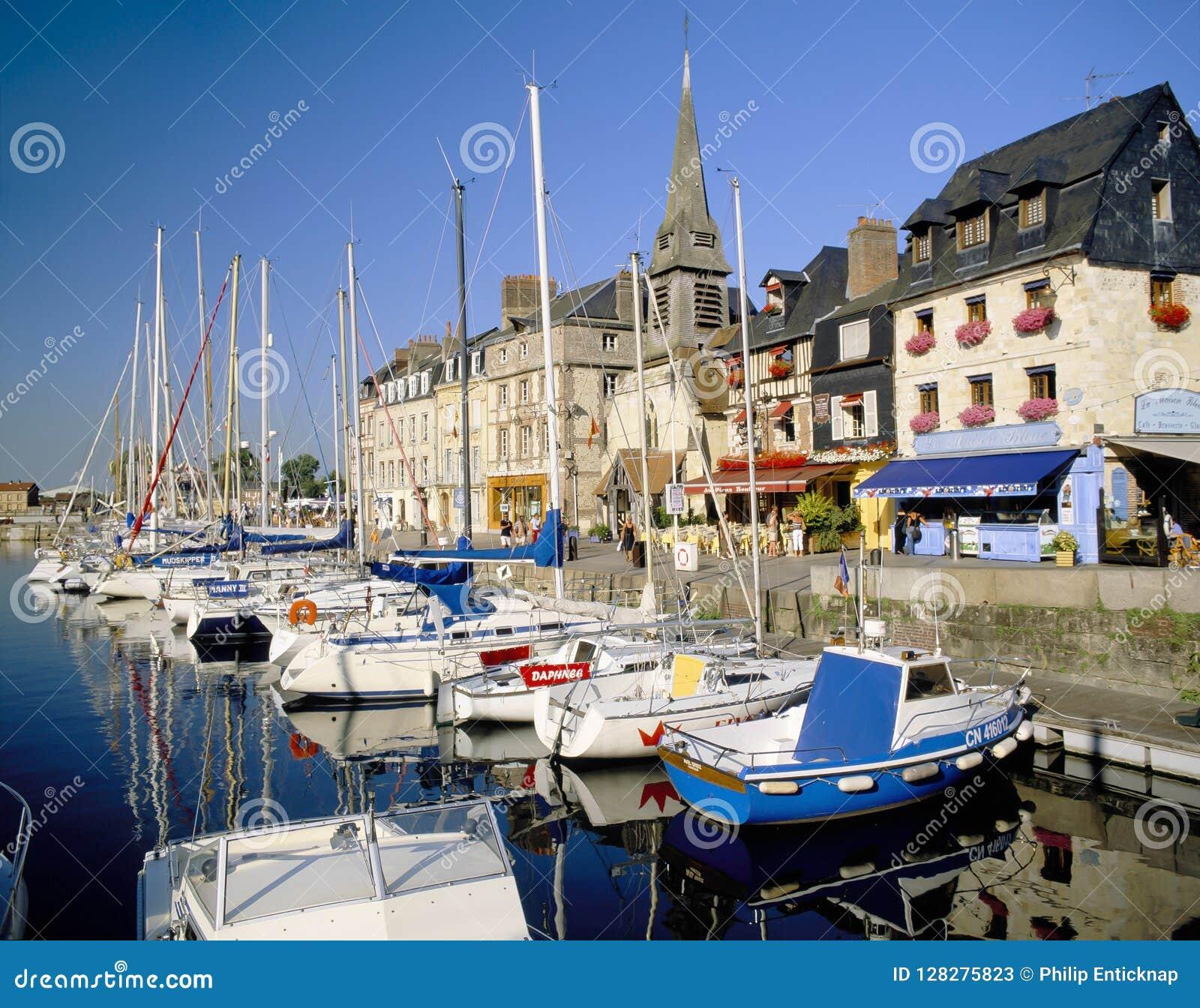 Honfleur, Normandië Frankrijk