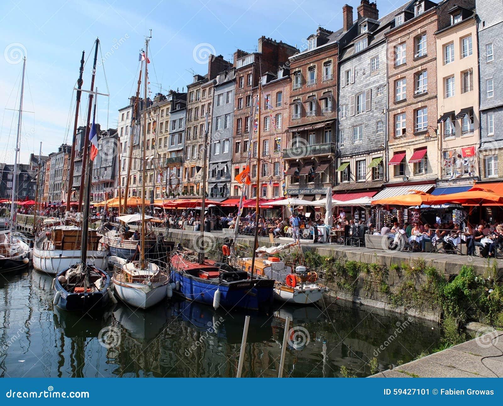 Honfleurstad Normandië