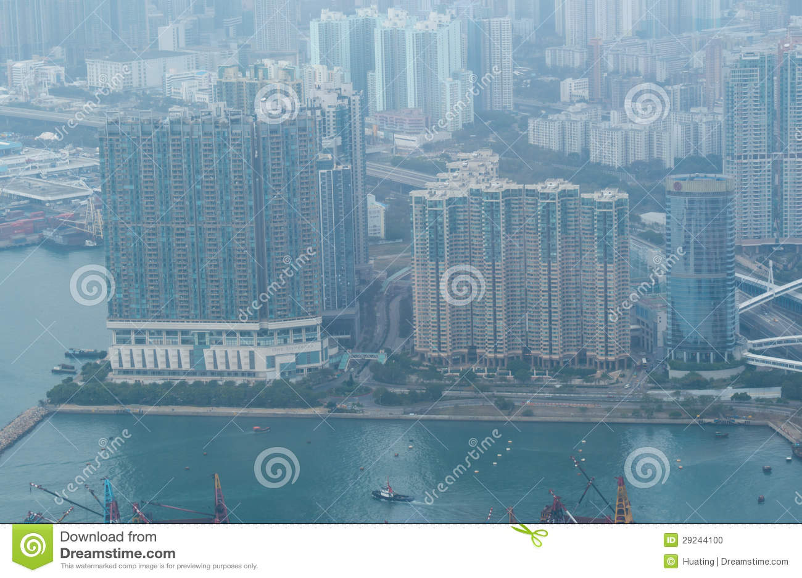 Download Hong Kong imagem editorial. Imagem de edifício, hong - 29244100