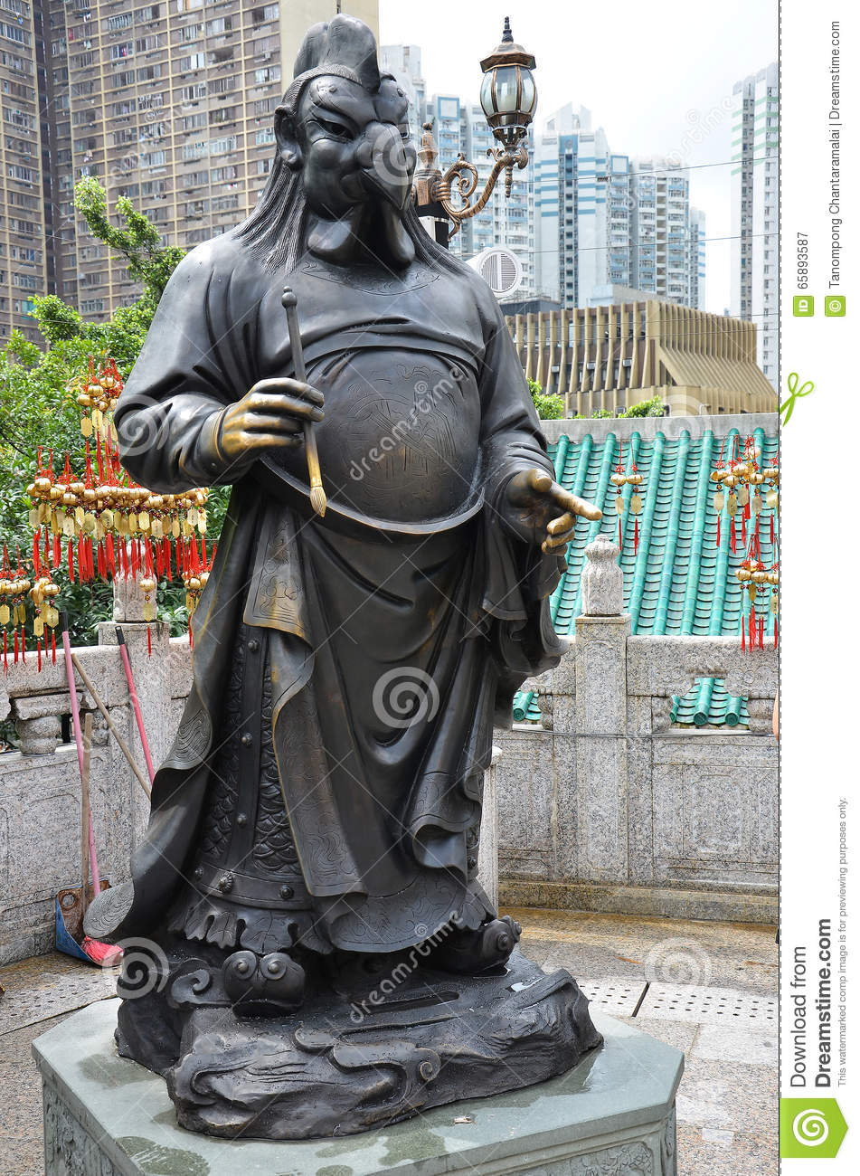 Hong Kong, China - June 25, 2014: Chinese Zodiac Bronze