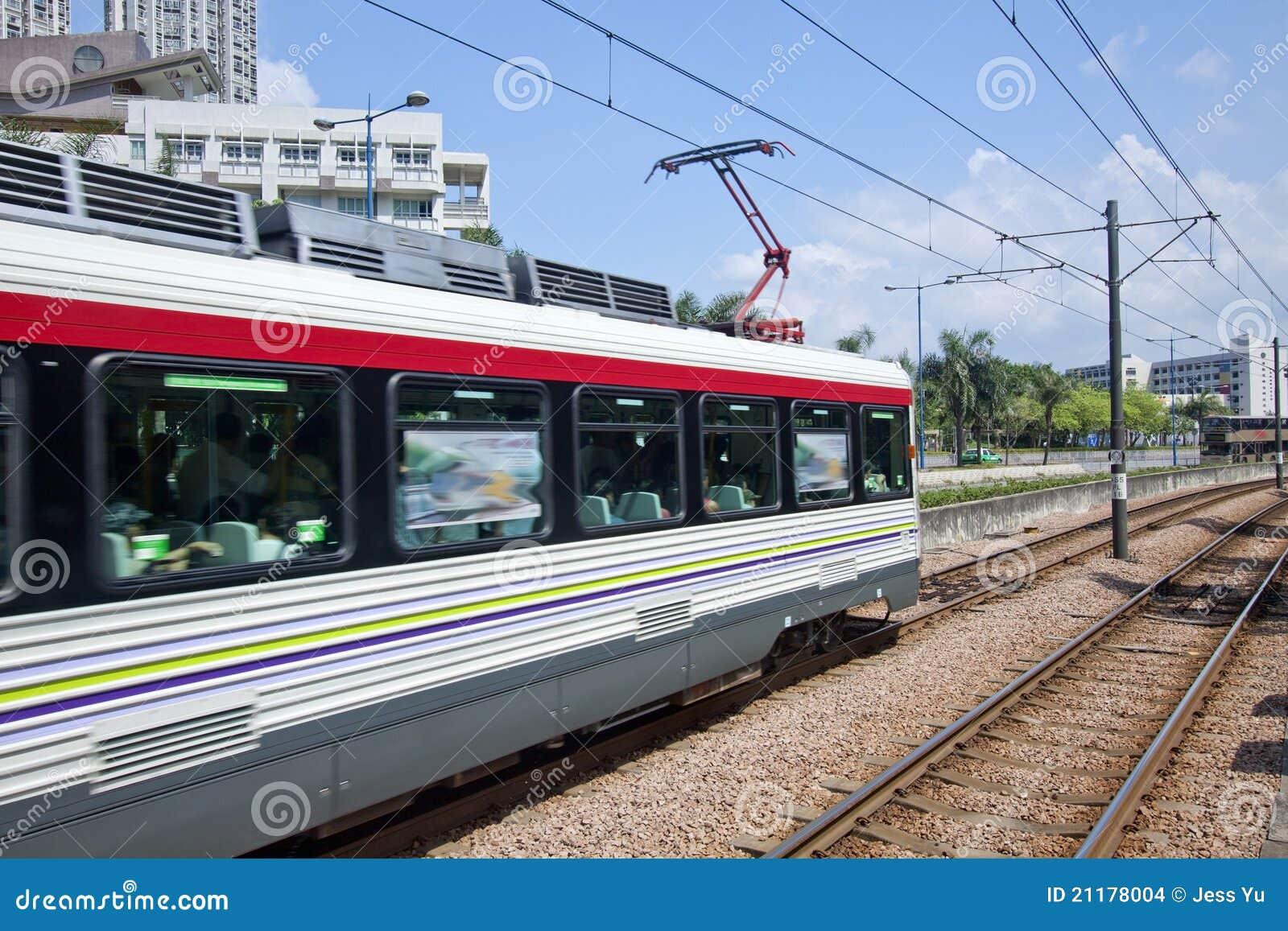 Hong kong chodzenia pociąg