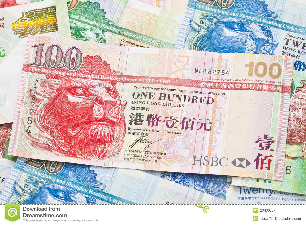Hong Kong Currency Background Stock Image - Image of currency, hong: 23436507