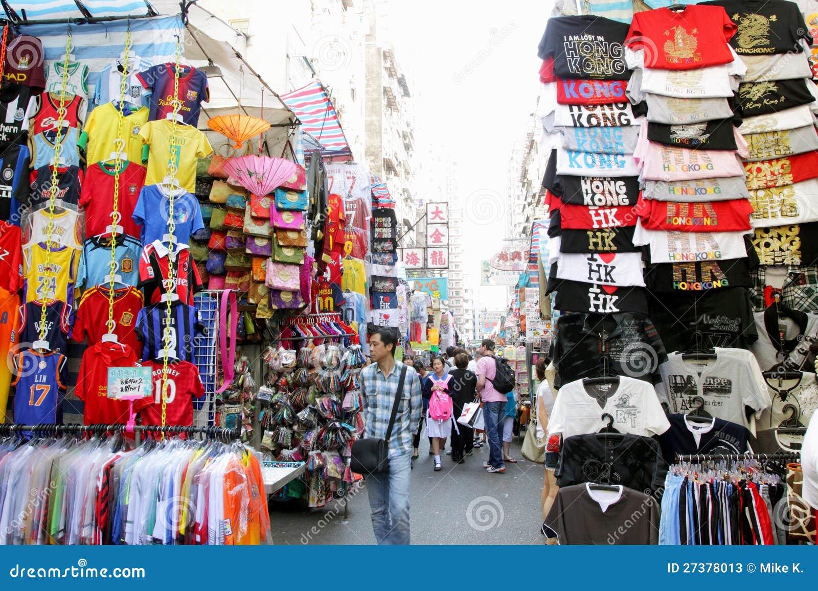 Hong Kong: Dama Rynek