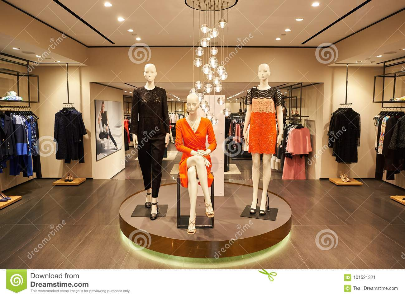1dcad9a3fe6 Escada store editorial photo. Image of outlet, modern - 101521321