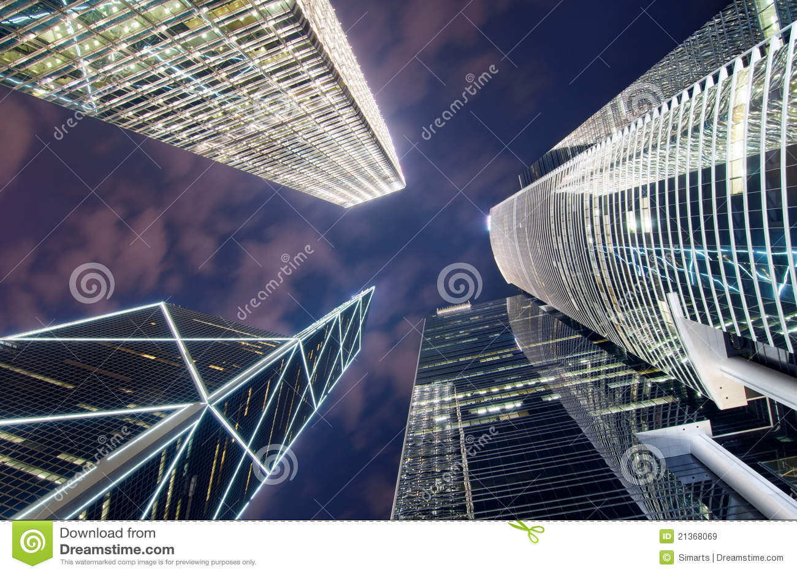 Hong kong drapacz chmur