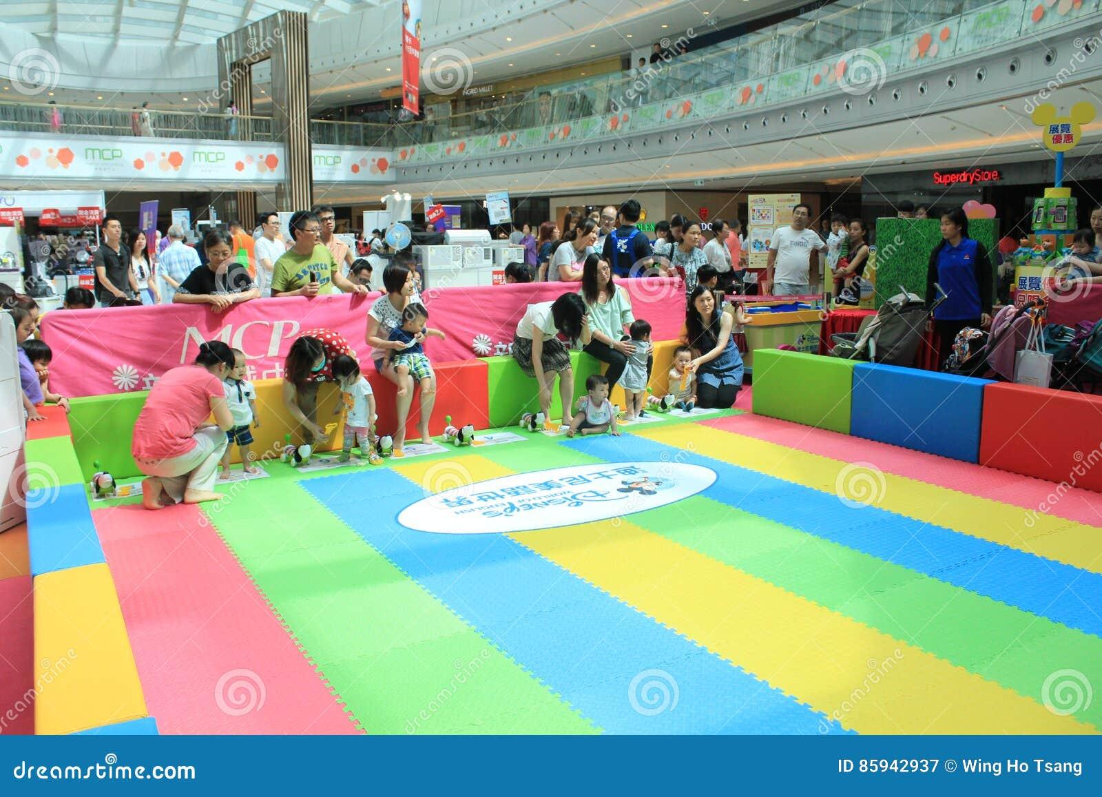 Hong Kong Event of Disney`s World Family Sweetheart Baby Carnival