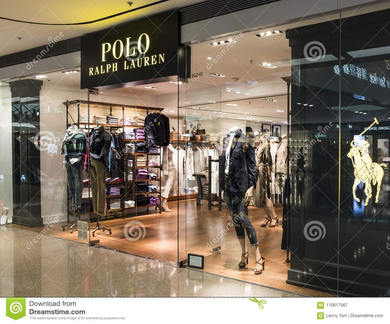 Polo Ralph Lauren Store In Hong Kong Polo Ralph Lauren Is An American Corporation Founded In 1967 B Editorial Photography Image Of Asia Apparel 110617567
