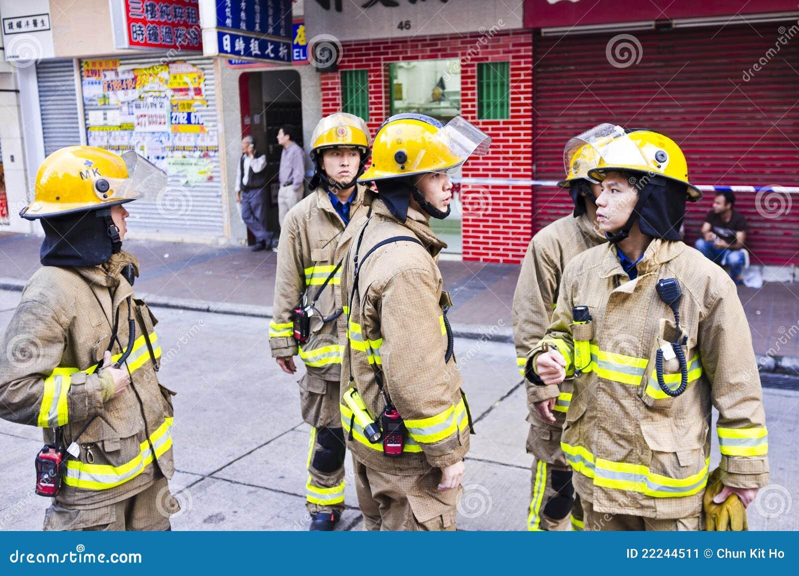 Hong Kong Firefighter Editorial Photo - Image: 22244511