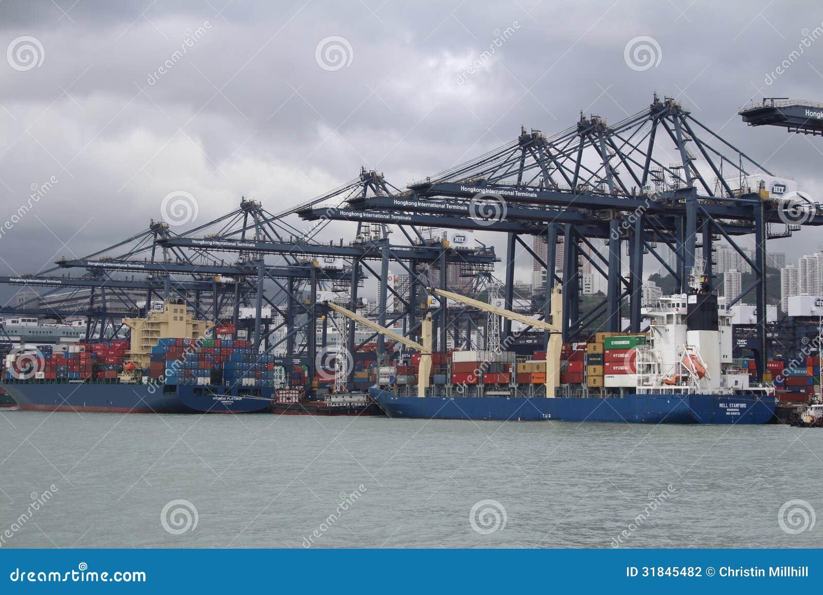 Hong Kong Freight Harbor