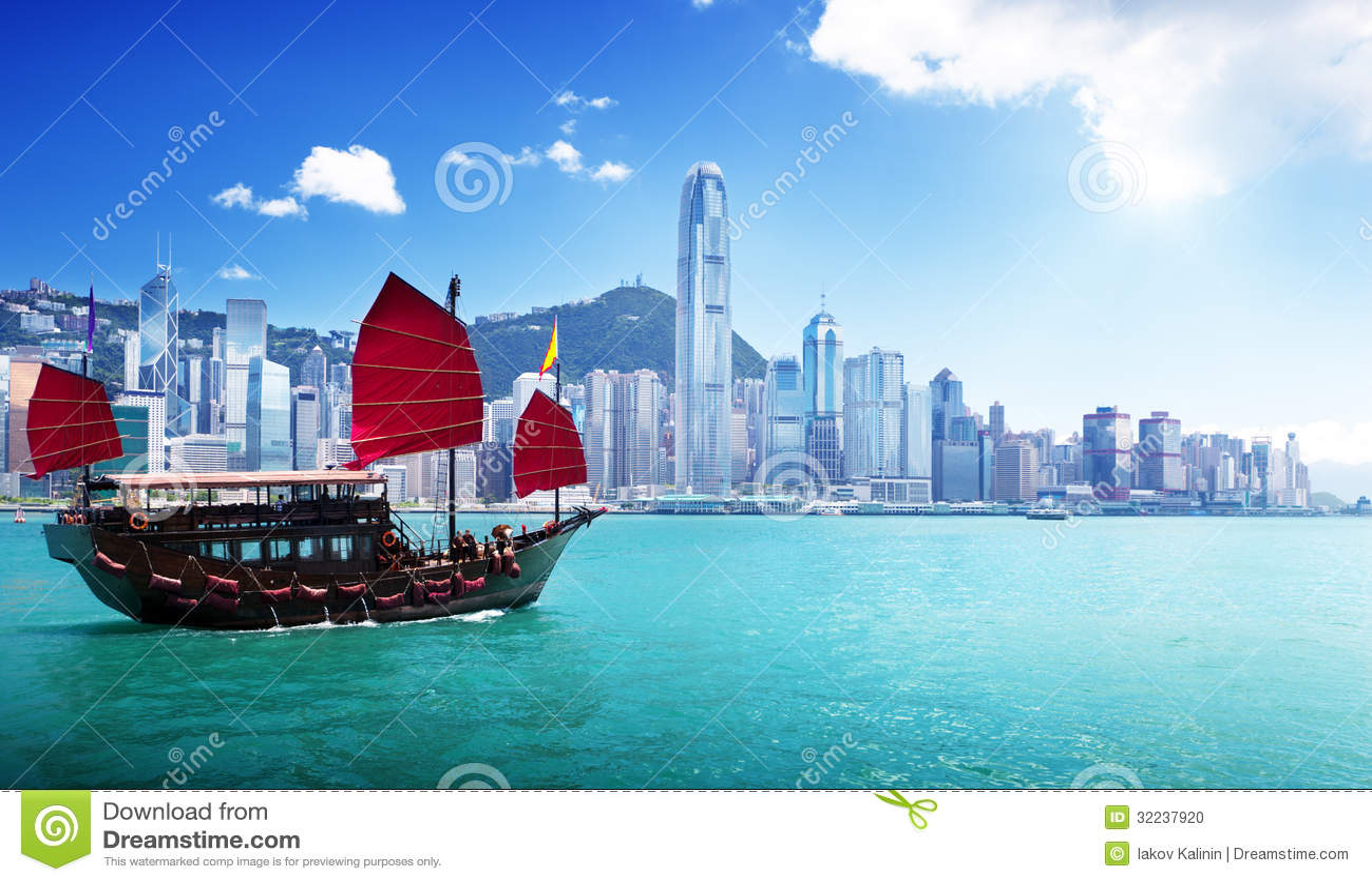 Hong Kong-Hafen