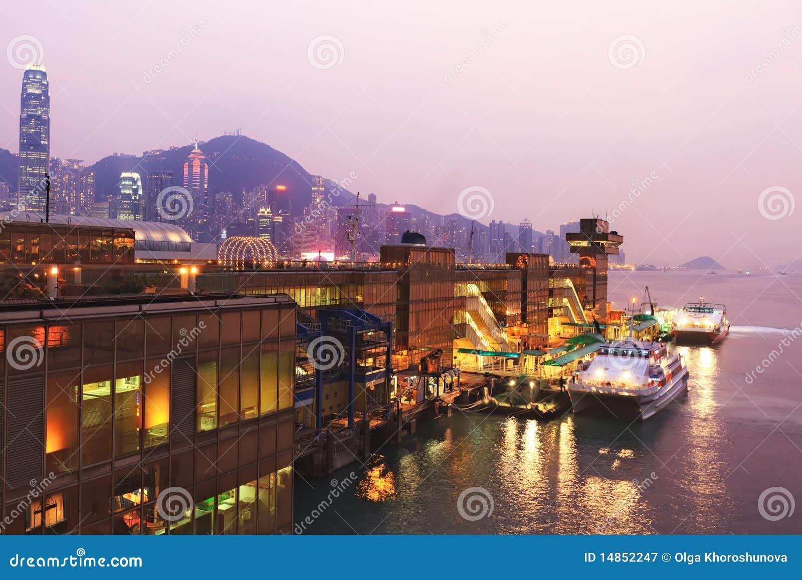 Hong Kong harbor ferry