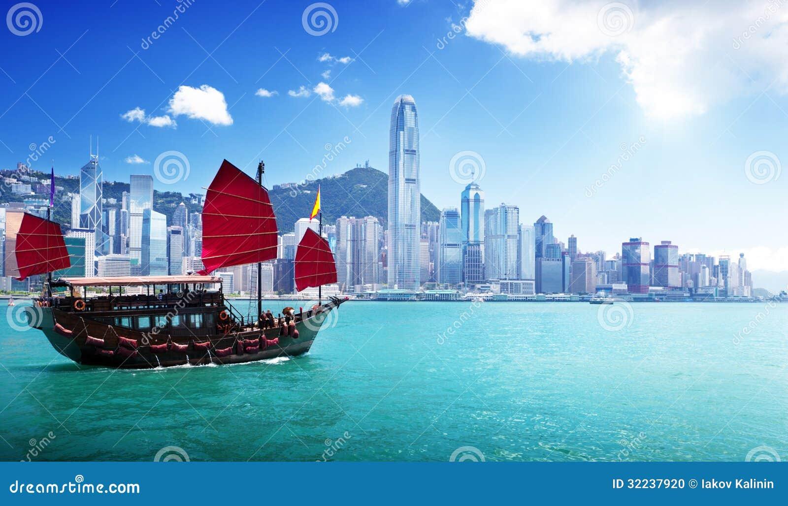 Hong Kong Harbour Tour Junk