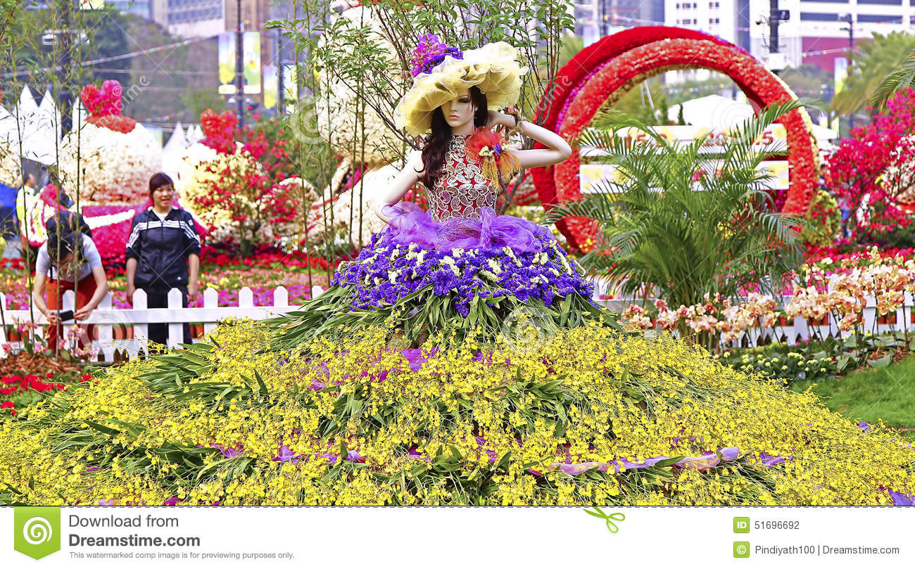 Hong Kong Internationall Flower Show 2015 Editorial graphy Image 5169