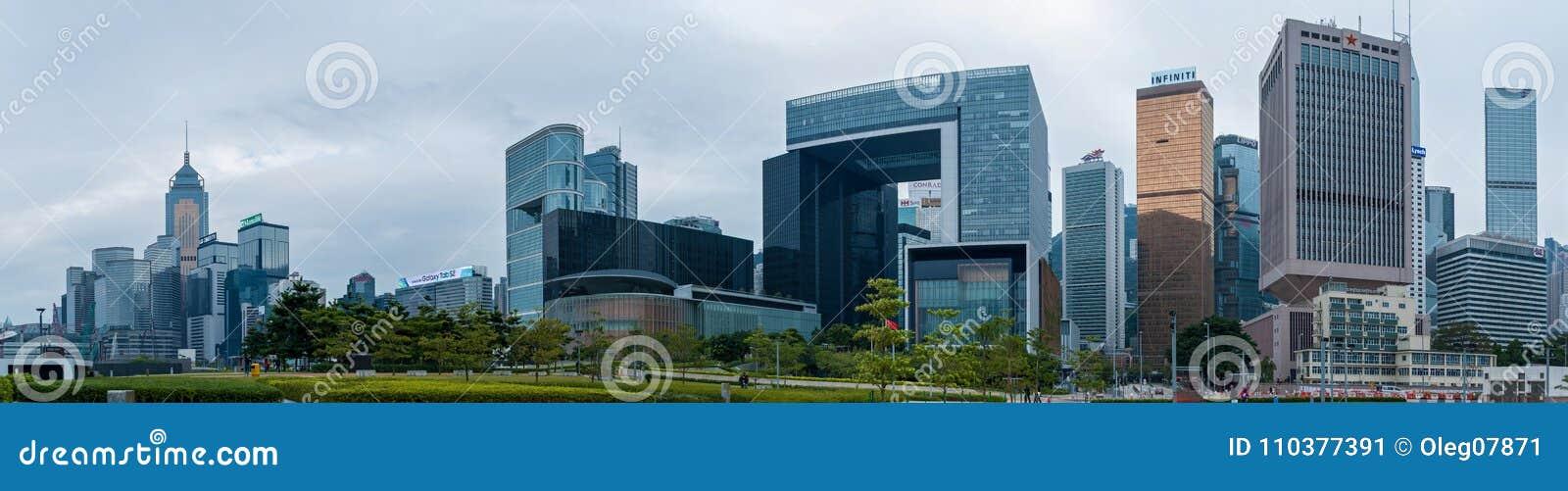Hong Kong Korporacyjni budynki