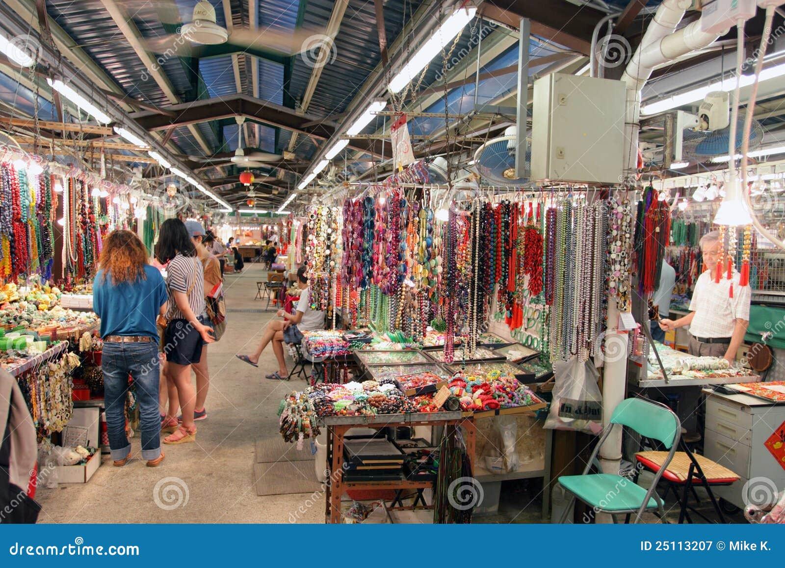 Hong Kong: Mercado do jade