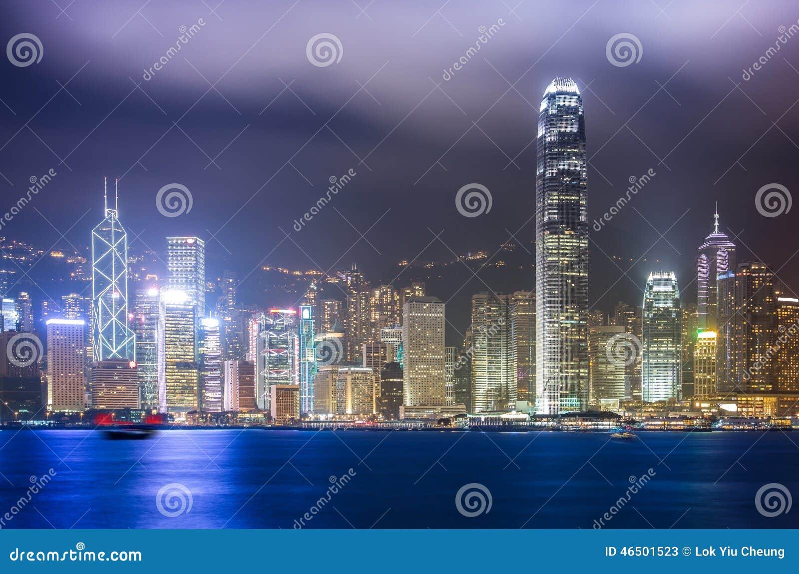 Hong Kong miasta krajobraz