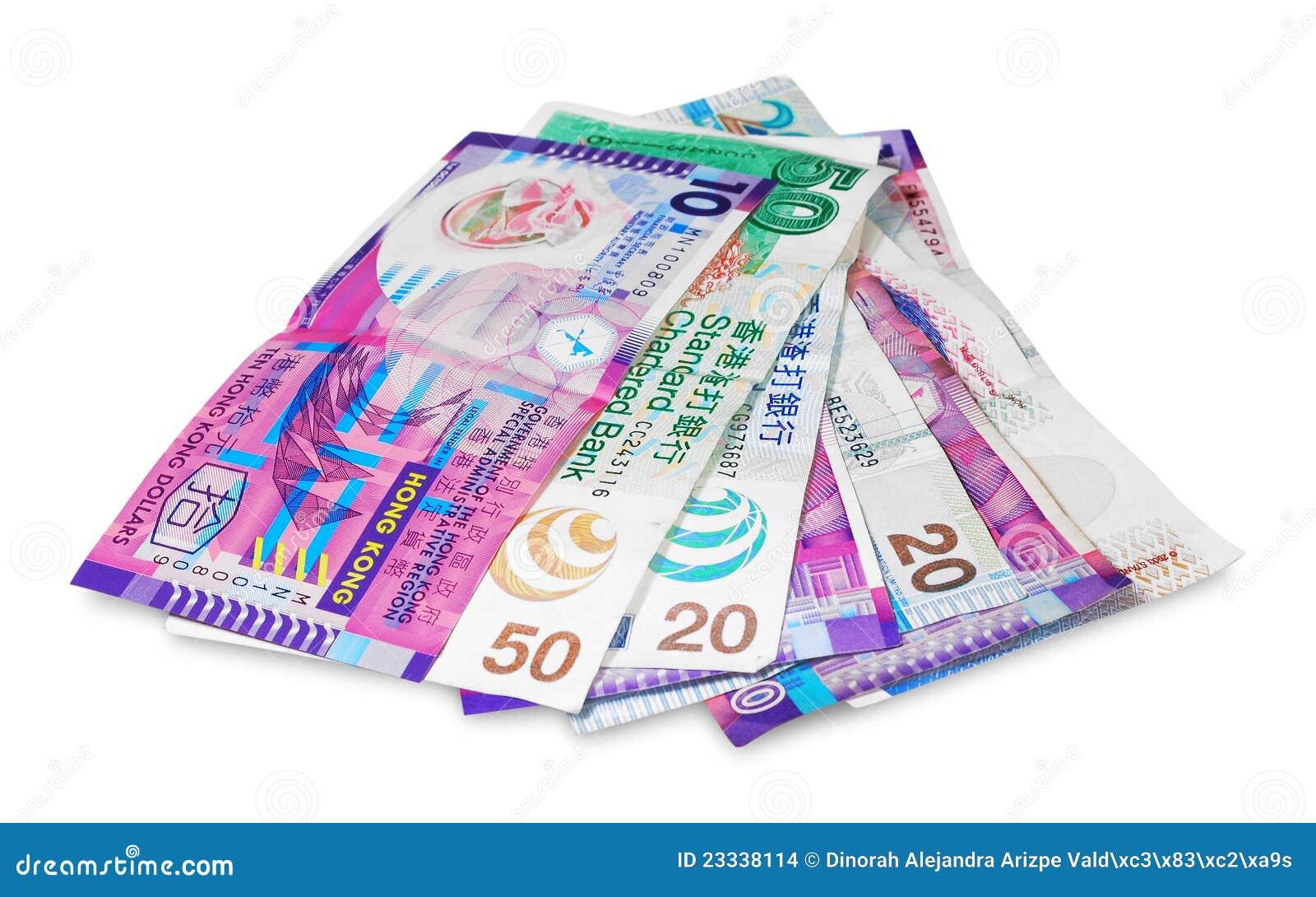 Hong Kong Money Stock Images Image 23338114