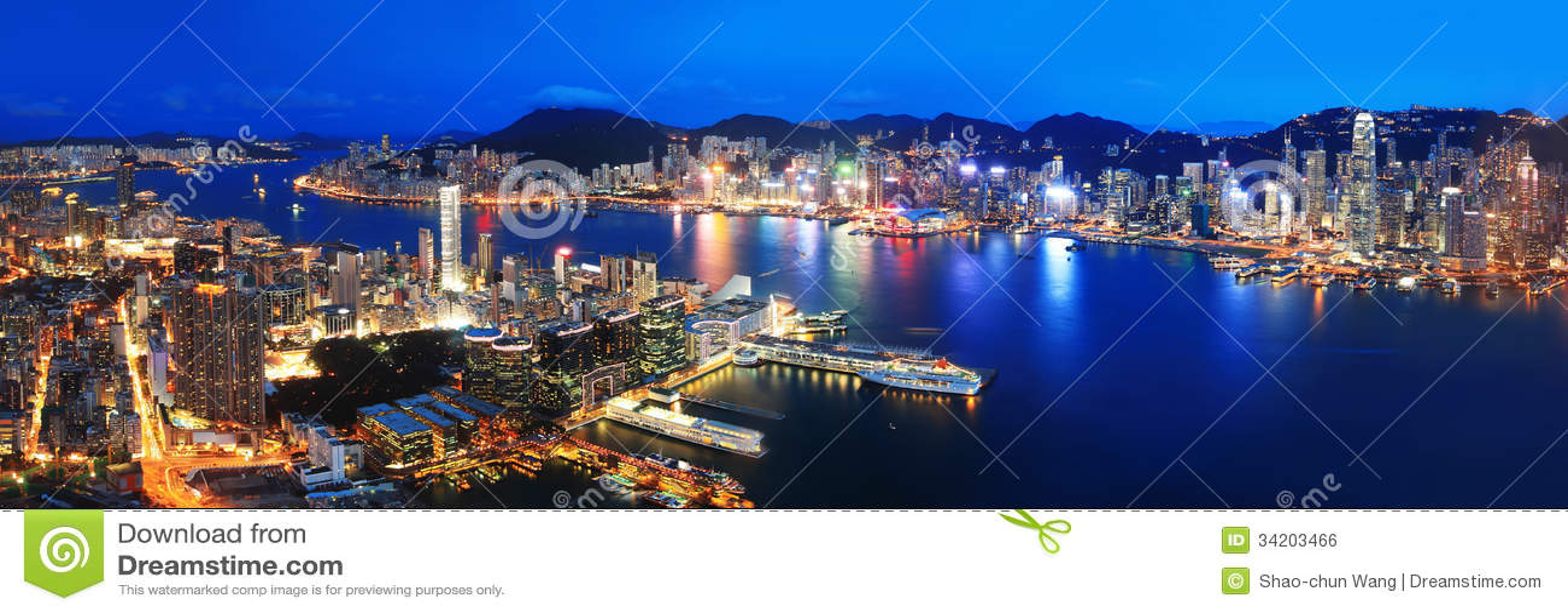 Hong Kong-nachtmening