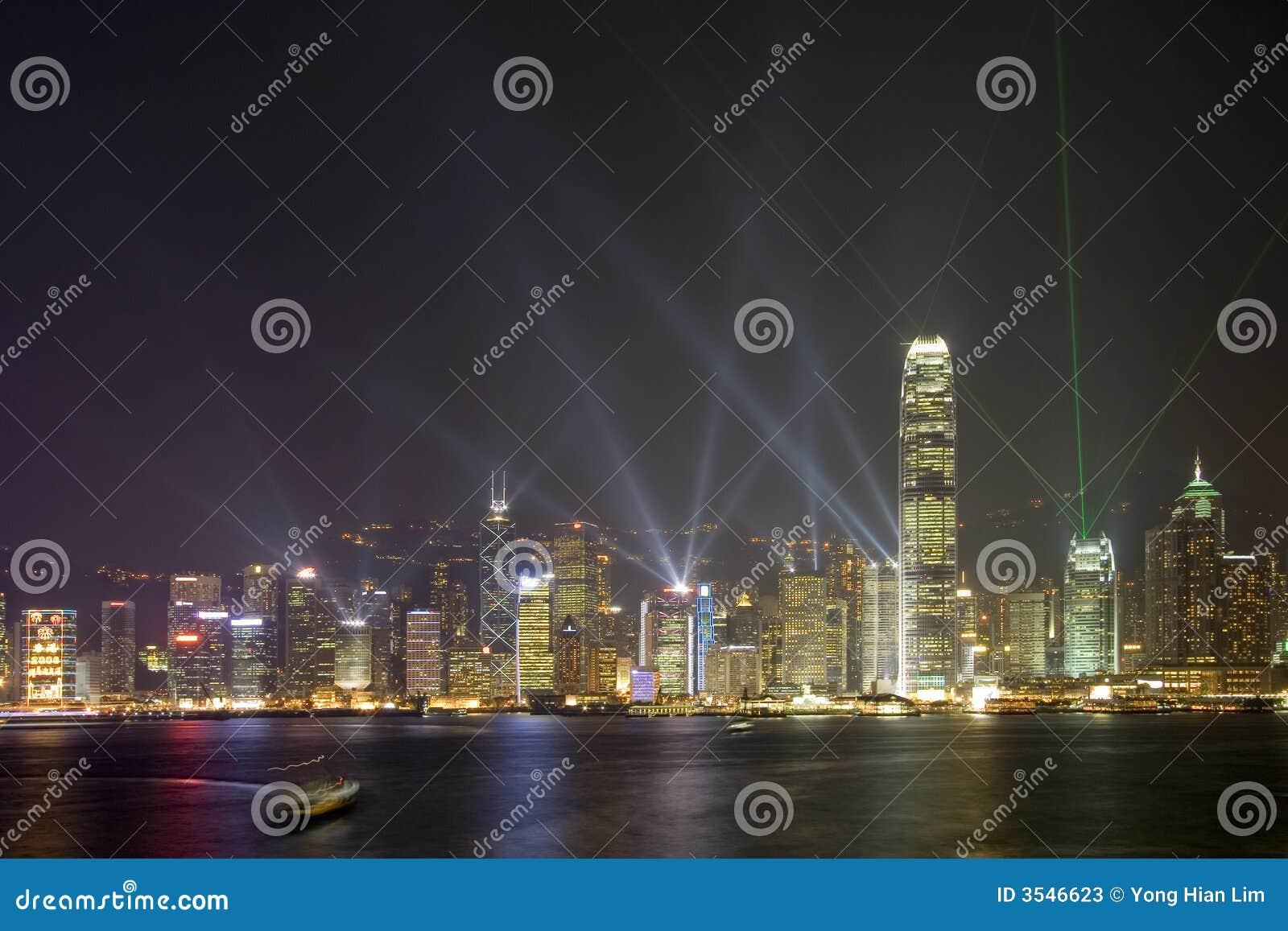 Hong Kong natthorisont