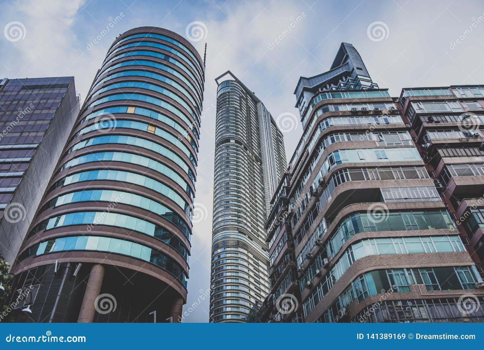 Hong Kong, noviembre de 2018 - ciudad hermosa