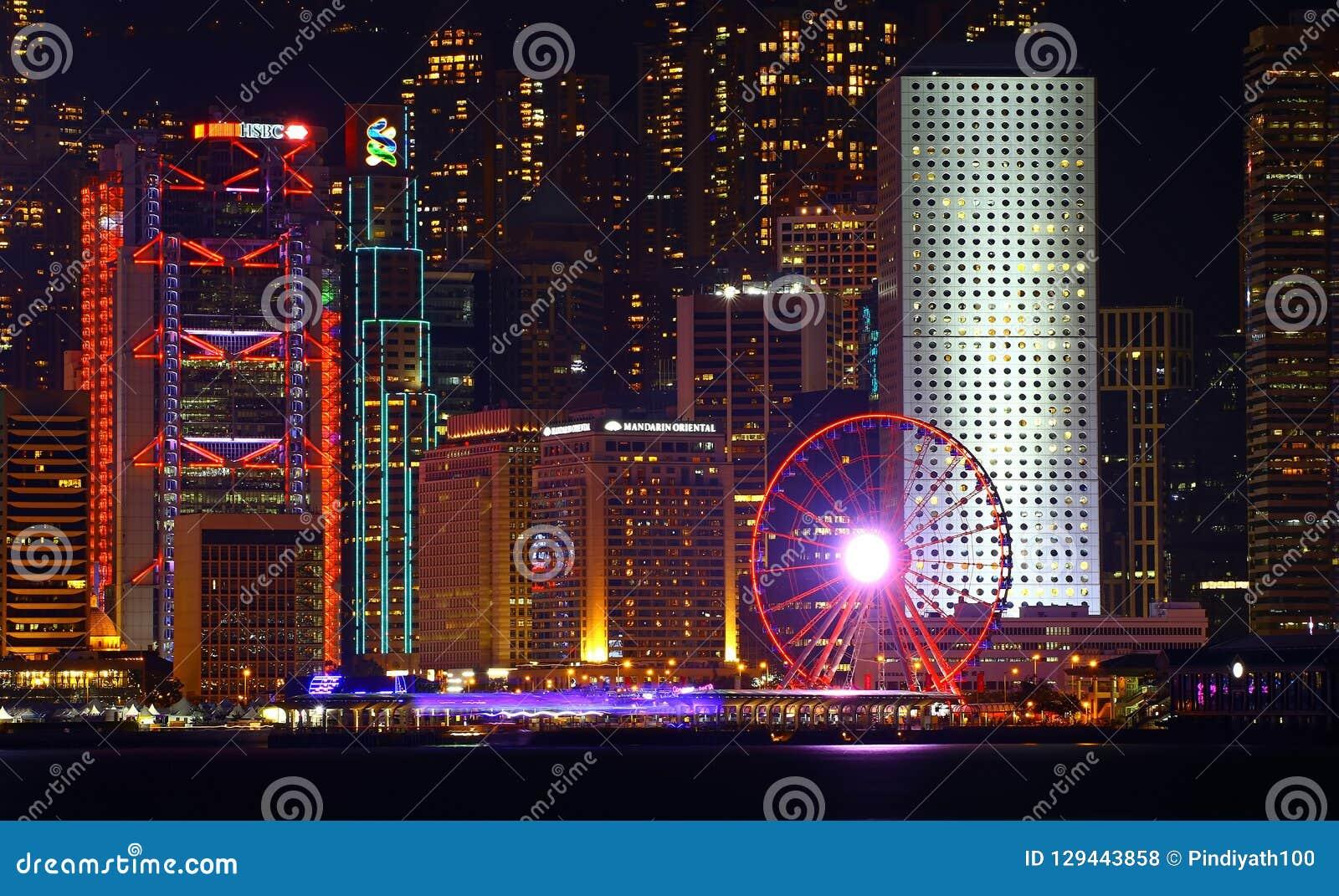 Hong Kong obserwaci koło