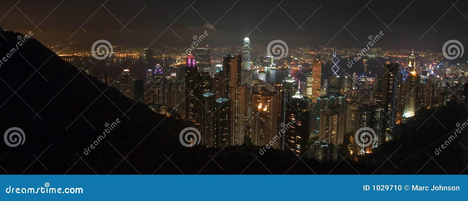 Hong kong pano szczyt