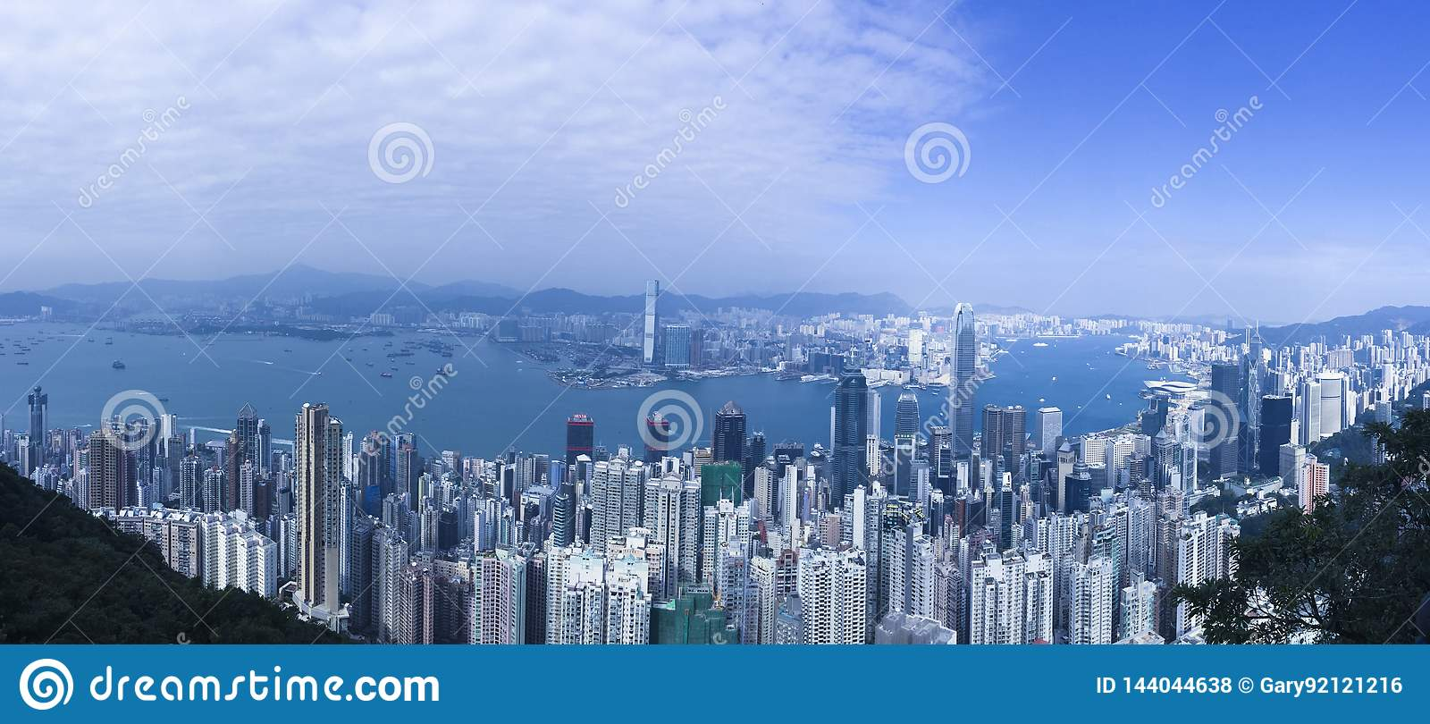 Hong Kong Panoramic hermoso