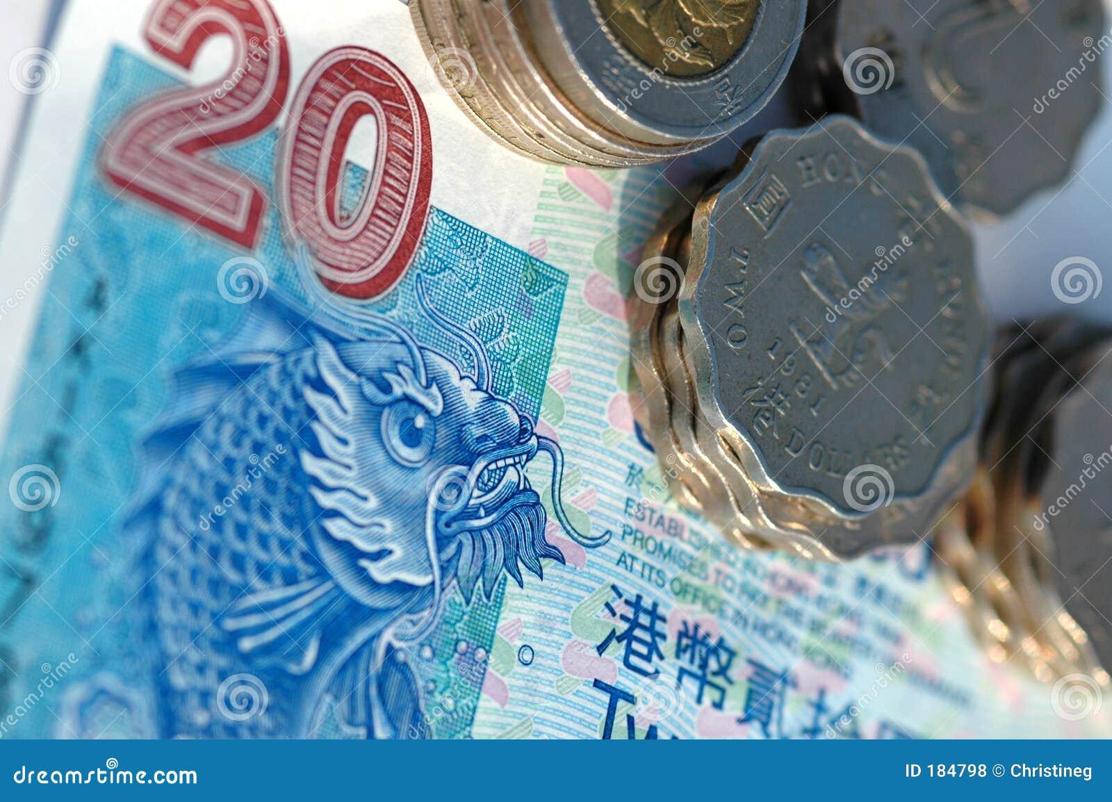 Hong kong pieniędzy