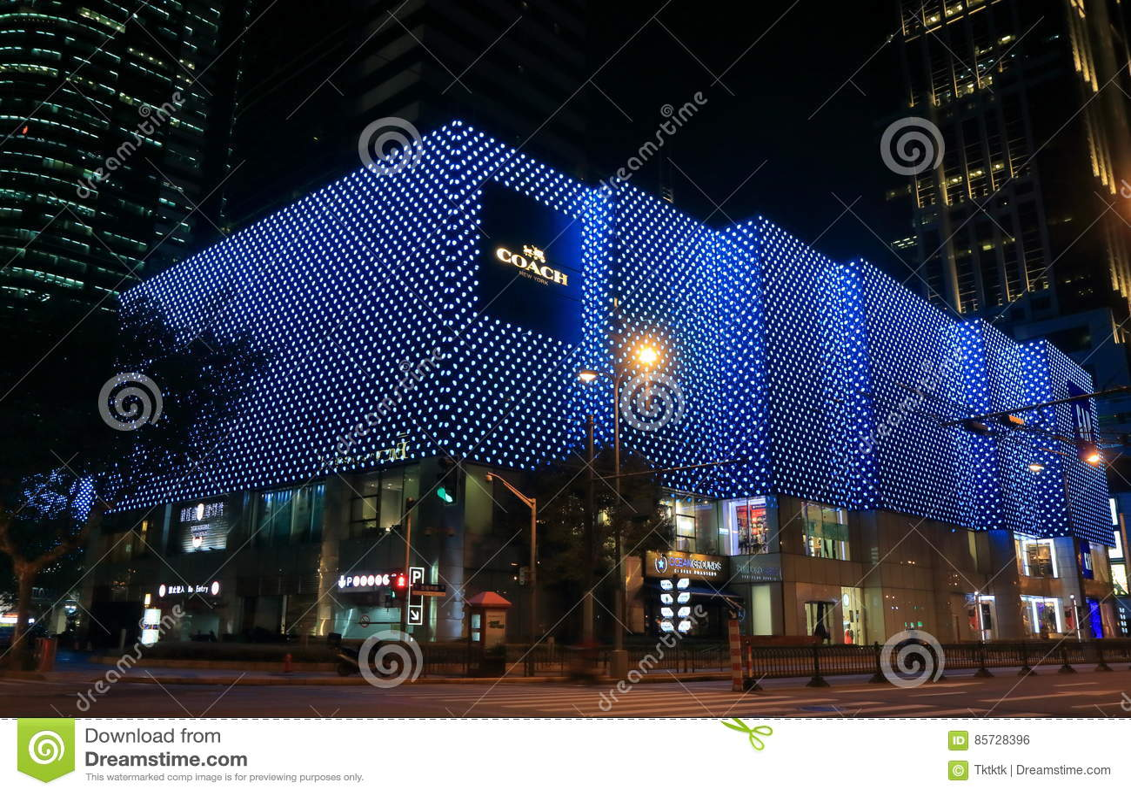 Hong Kong placu zakupy centrum handlowe Szanghaj Chiny
