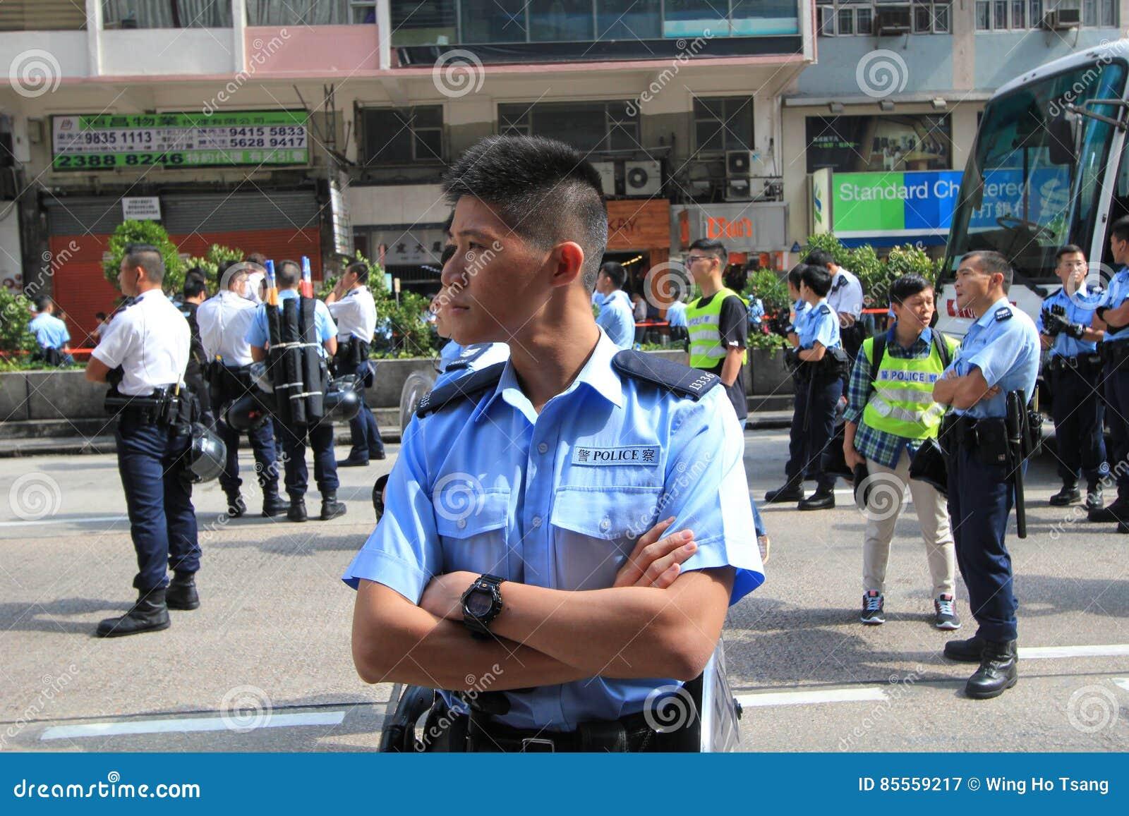 Hong Kong-Regenschirmrevolution in Mongkok