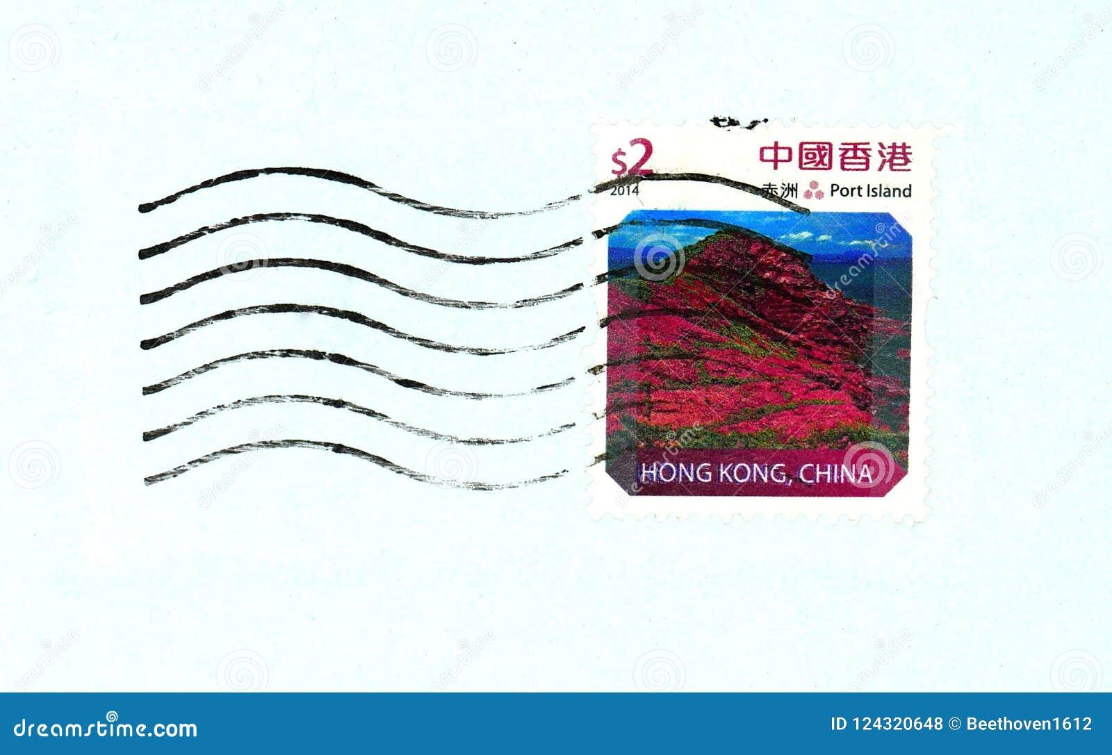 Hong Kong-Stempel