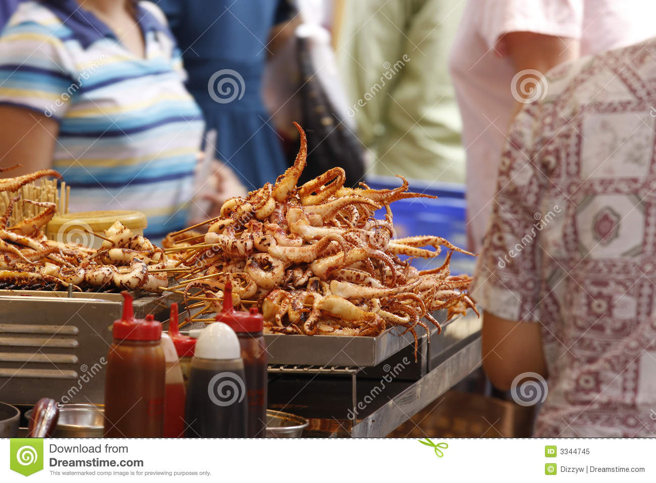 Hong kong street food stock image image of street asia for Cuisine x hong kong