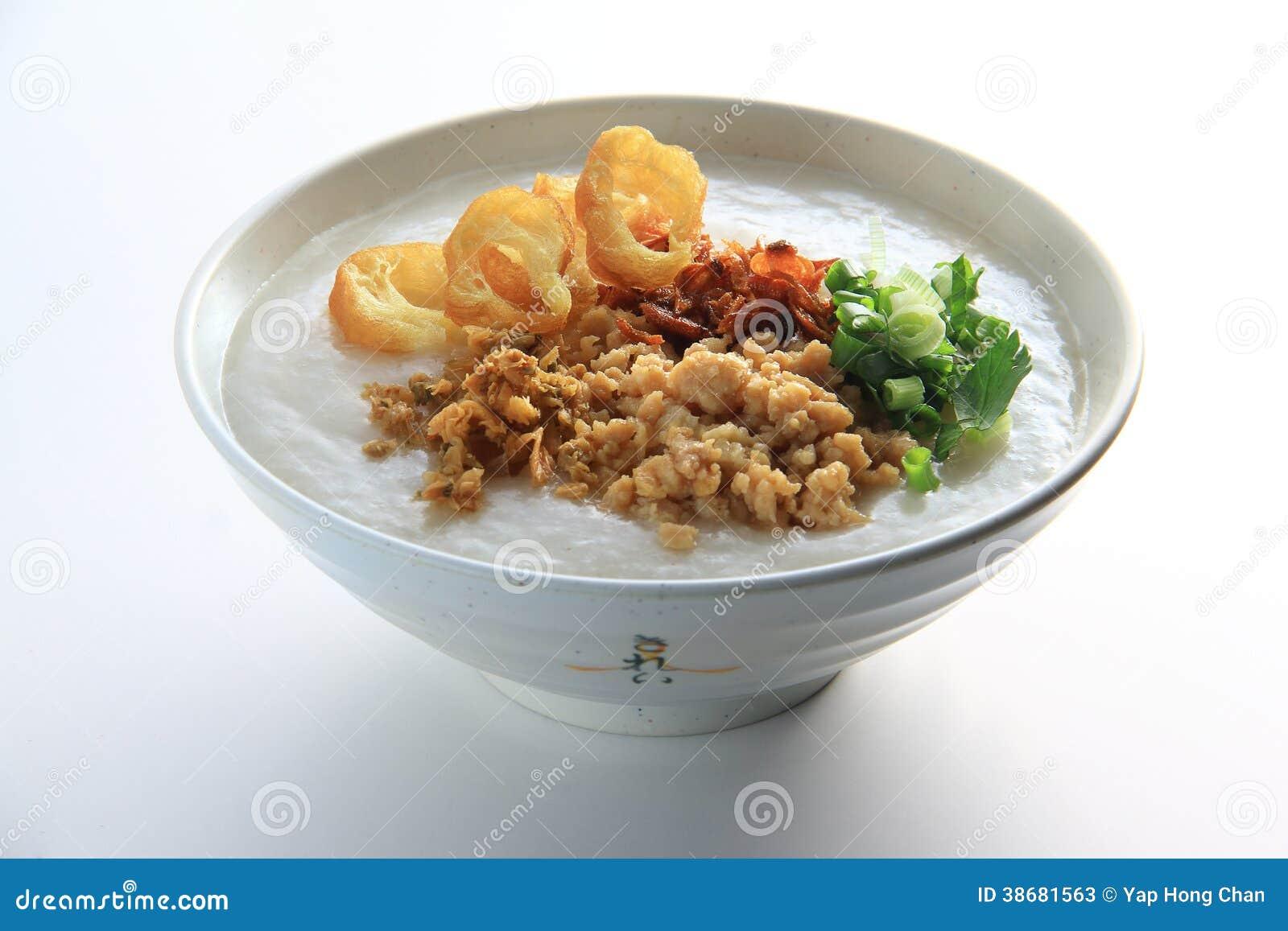 Hong Kong Style Meat Porridge Image stock - Image du porc ...
