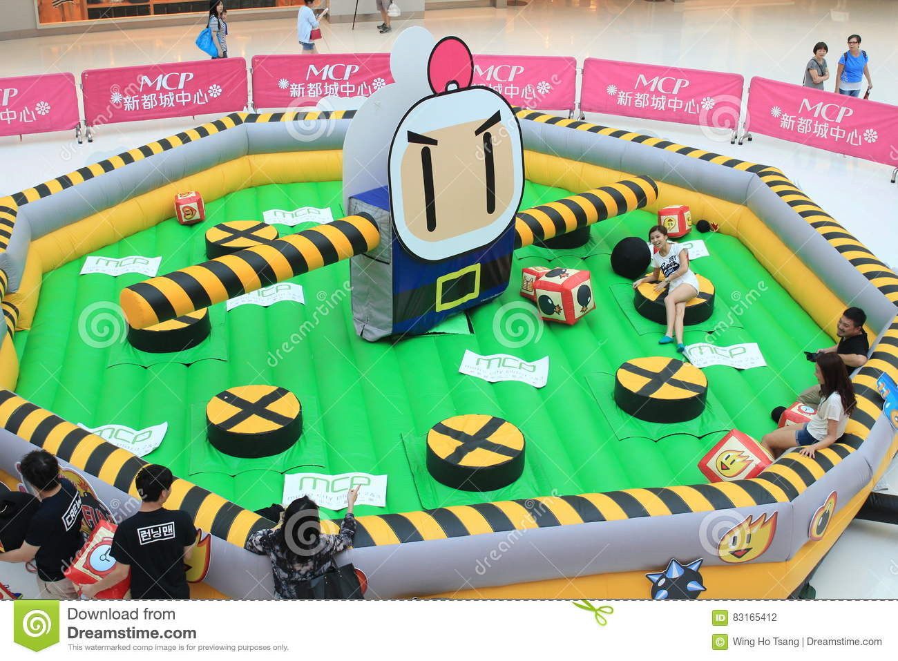 2015 Hong Kong VS Bomberman game event