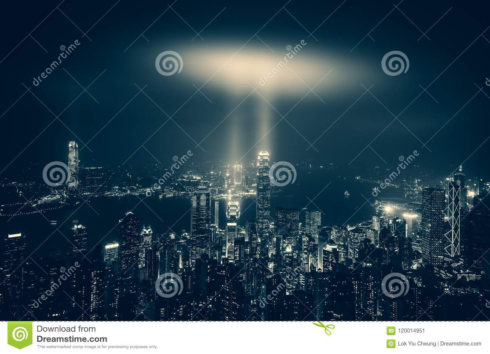 Hong Kong Wiktoria schronienia noc i dzień
