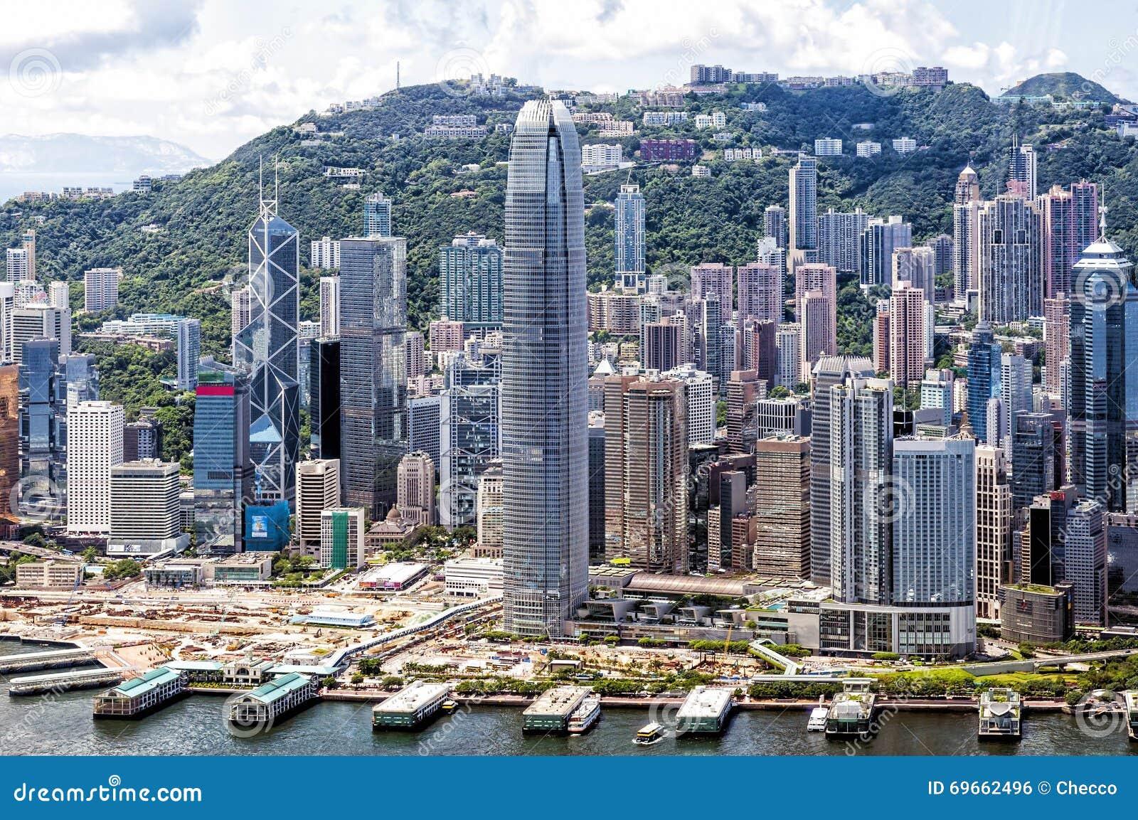 Hong Kong's Central District, China Editorial Photo ...