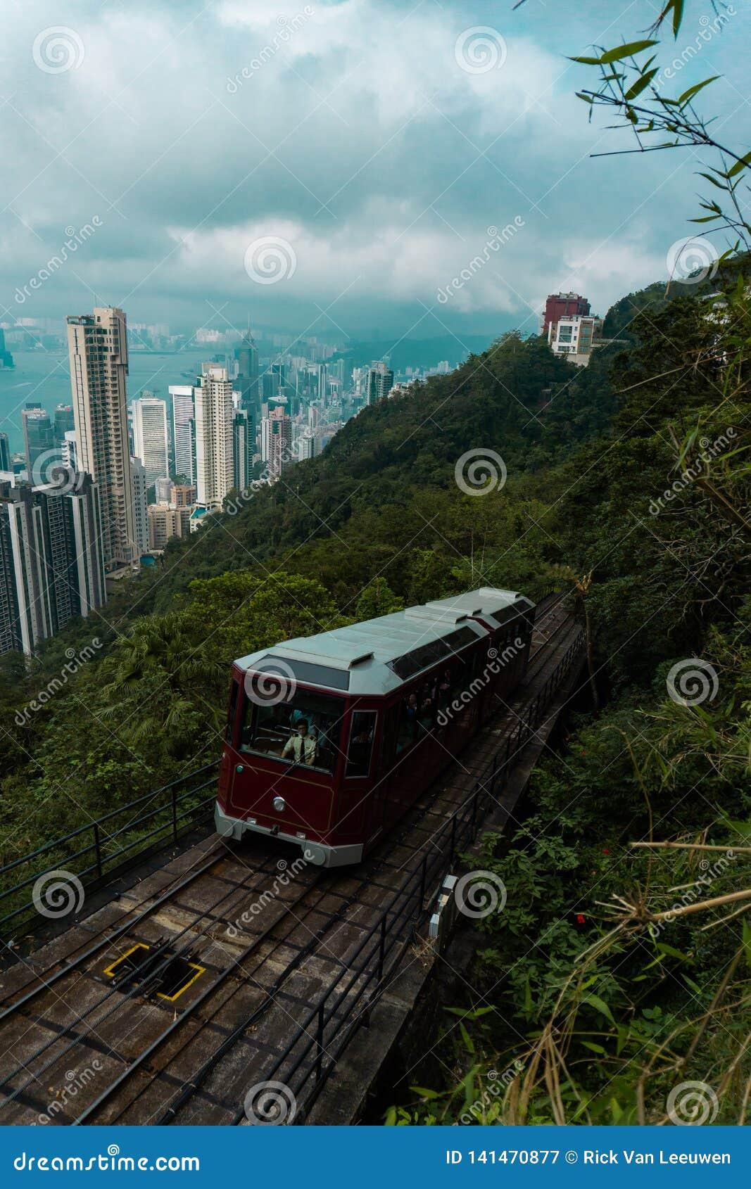 Hong- Konghöchstförderwagen