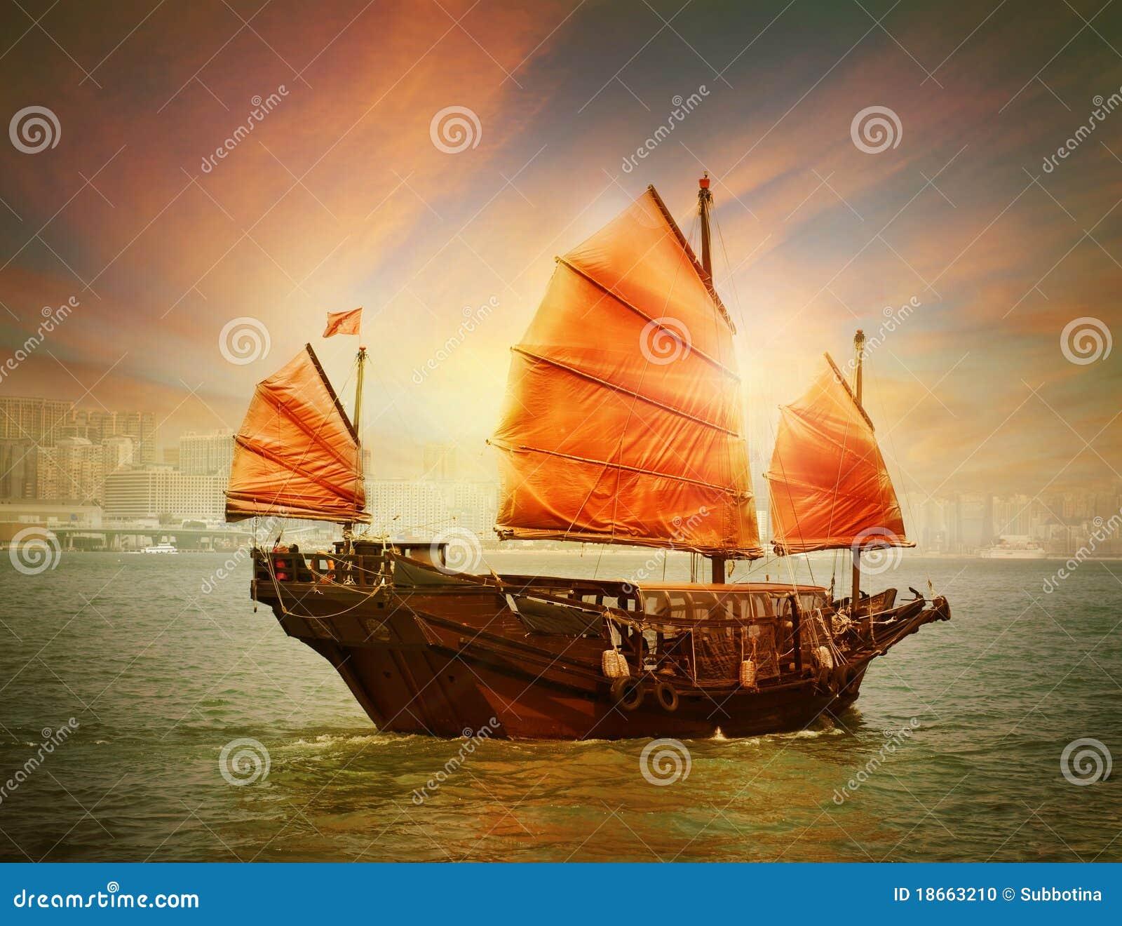 Hong- Kongtrödelboot