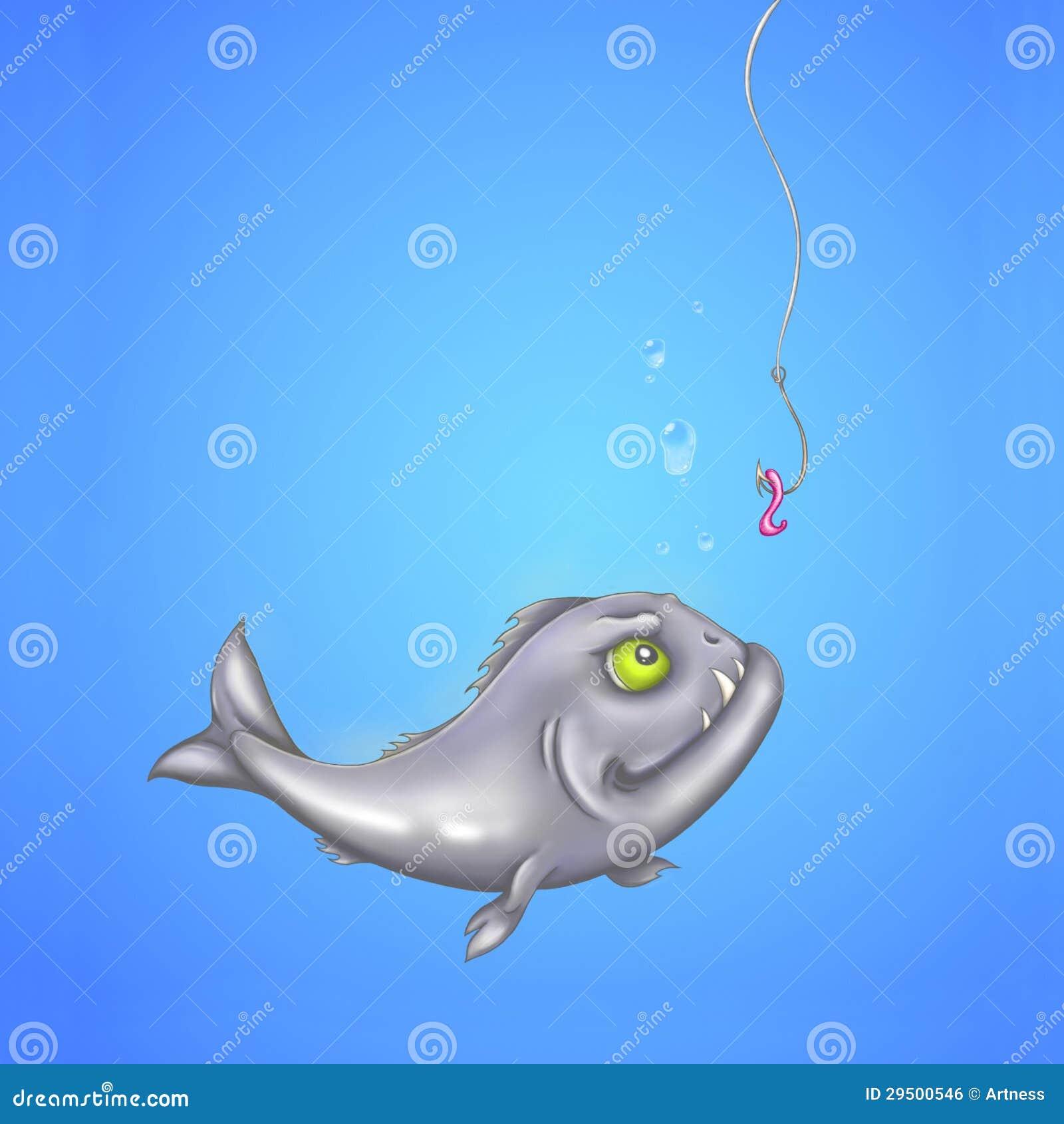 Hongerige piranha