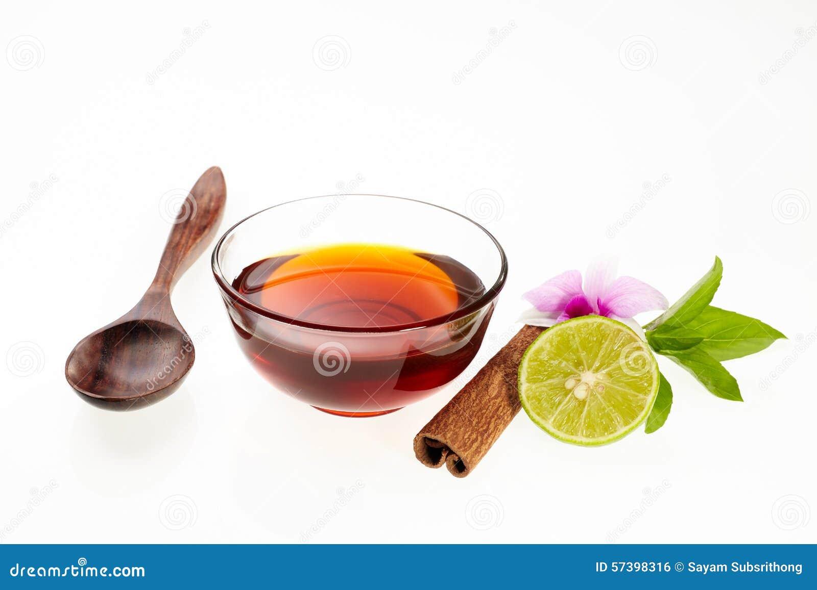 Honing met ingrediënt
