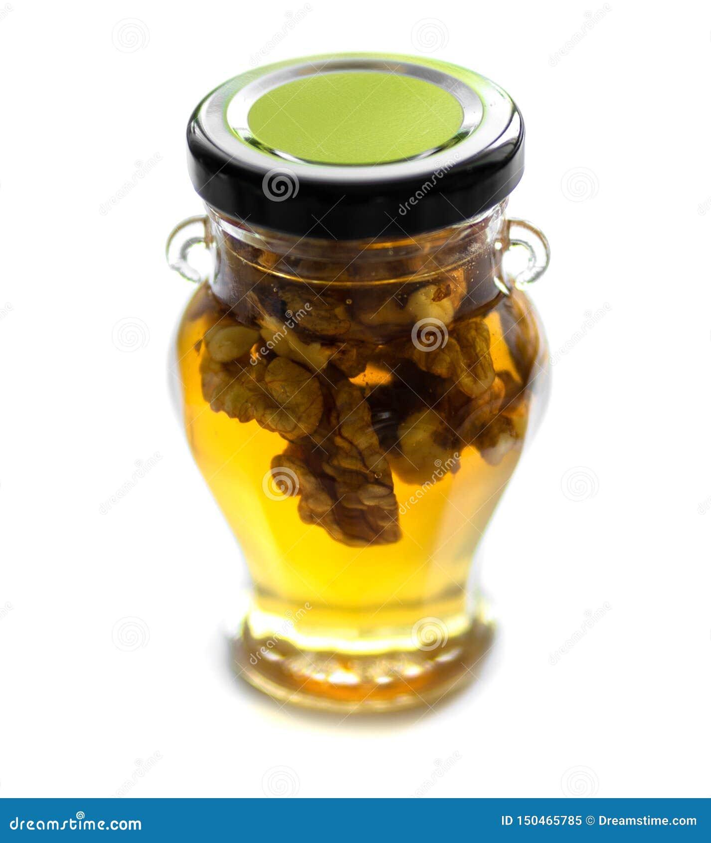 Honing met okkernoten