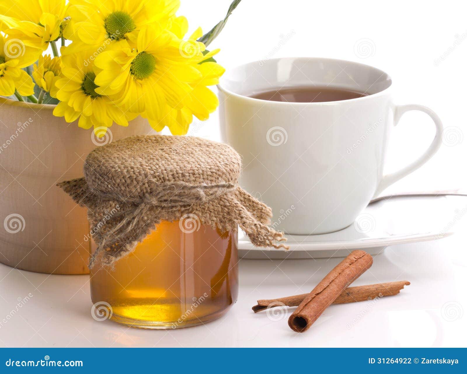 thee met kaneel en honing