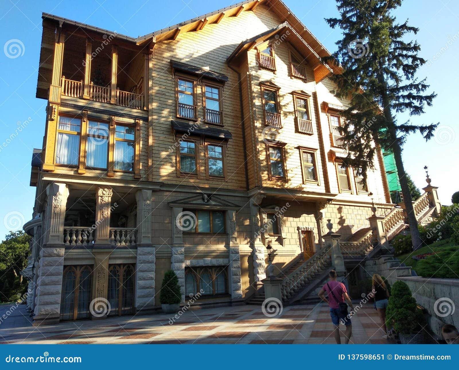Honka, σπίτι του πρώην προέδρου της Ουκρανίας