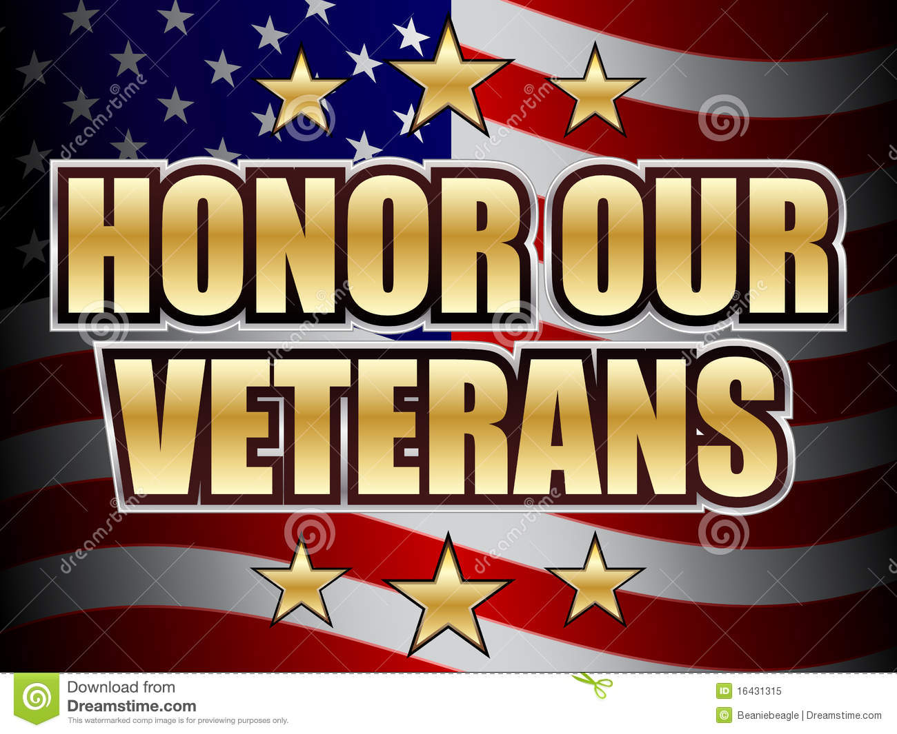 Veterans day clip art - Royalty Free Stock Photo Download Honor Our Veterans Day