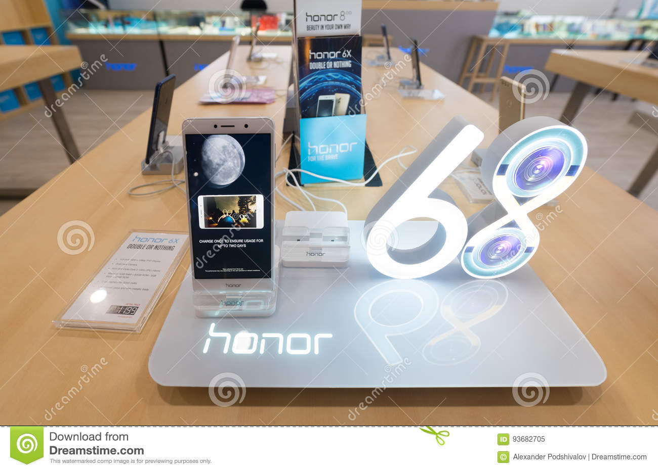 Honor 6x Smartphone For Sale Editorial Image - Image of