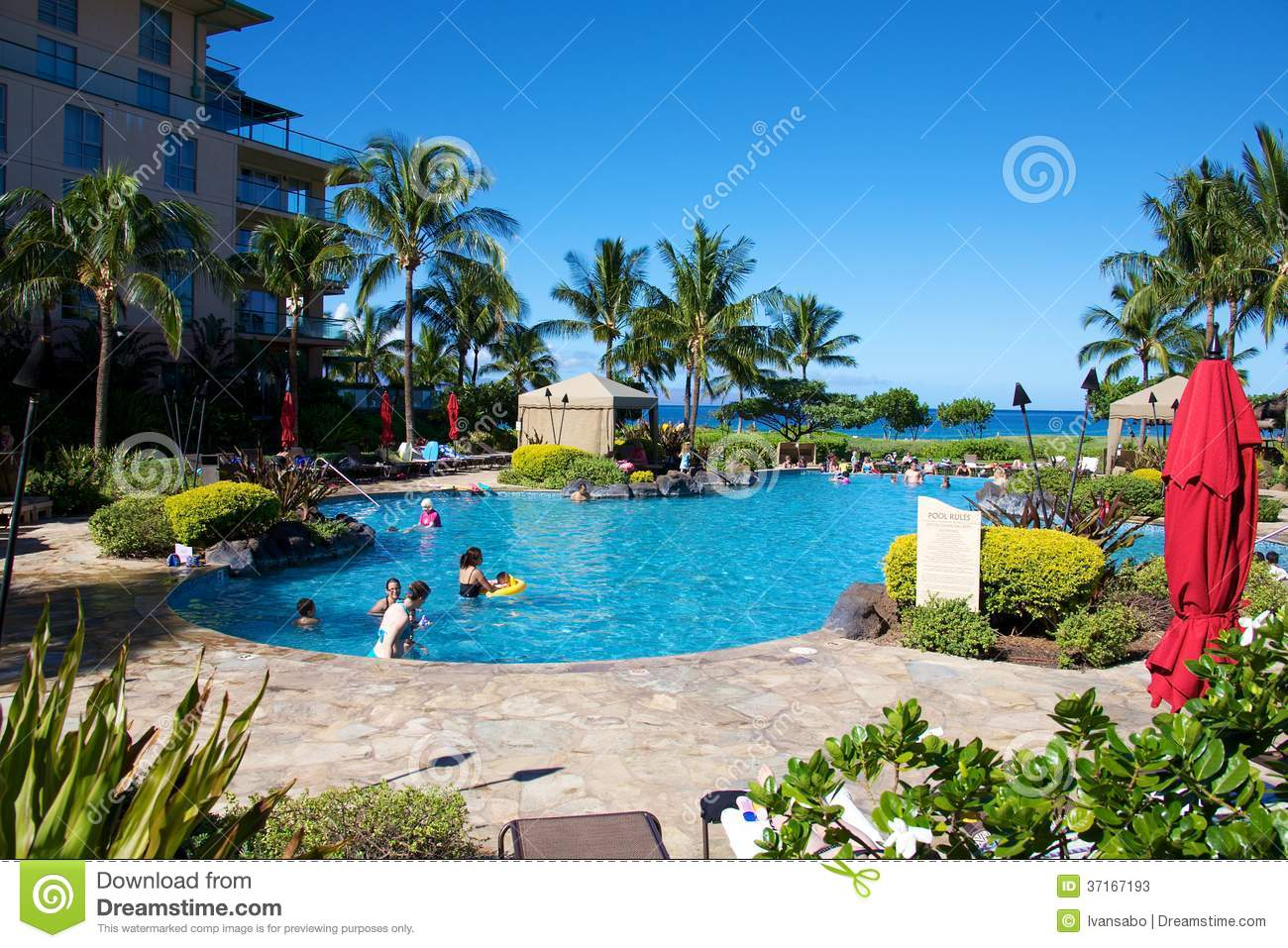 Honua Kai Resort and Spa editorial stock photo Image of