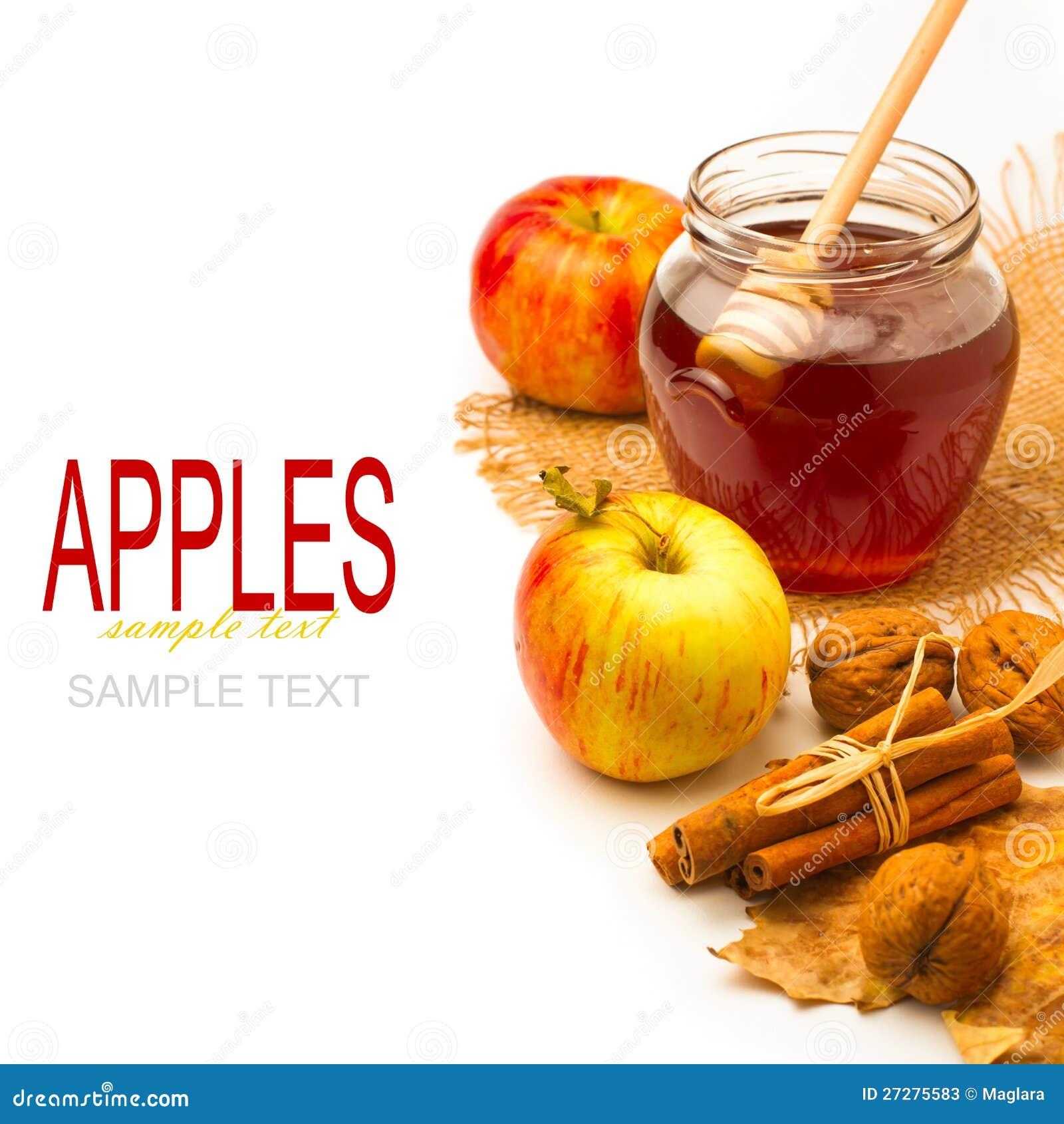 Honungjar och äpplen